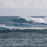 Our week finished with some large surf conditions, and Rob showed us how to do it out there